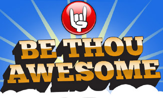 Be Thou Awesome website