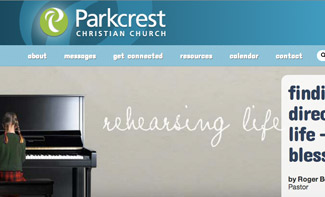 Parkcrest Christian Church Website